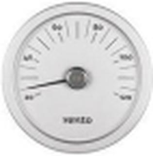 Rento bastutermometer i Aluminium Grafitgrå