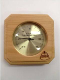 Kota Bastutermometer fyrkant Ceder - 220 TD