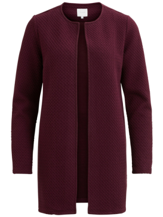 VILA Simple, Long Jacket Women Red