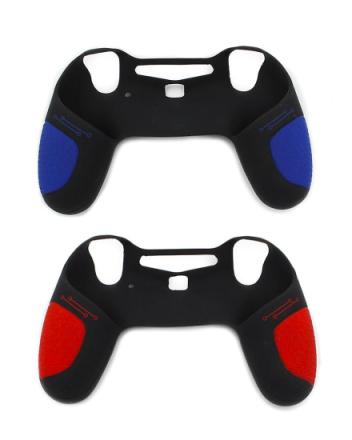 Offisielt PlayStation 4 PS4 silikon anti-slip kontrolleren håndtak ...