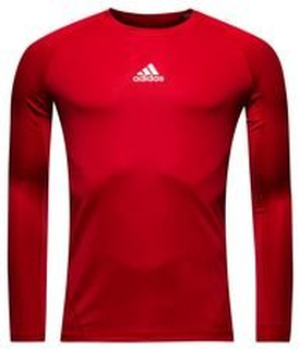 adidas Baselayer Alphaskin Sport L/E - Rød Barn
