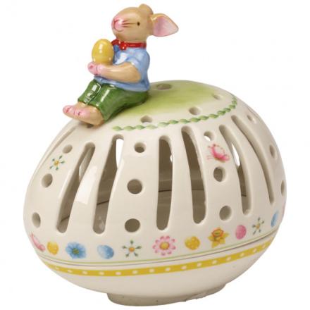 Villeroy & Boch Påske Bunny Family Liggende Egg Telysholder
