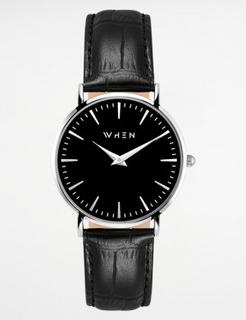 When Watches, ACE, Svart, Klockor till Unisex, One size
