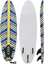 vidaXL Surfbräda 170 cm löv