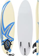 vidaXL Surfbräda 170 cm stjärna
