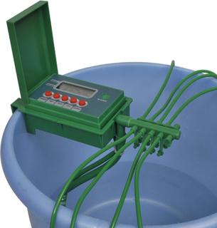 vidaXL Automatisk Vandingsanlæg vandsprinkler timer