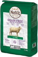 Nutro Hund Grain Free Senior - lam - 11,5 kg