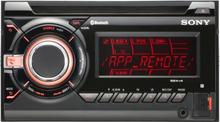 SONY Autoradio WXGT90BT 2 DIN med Bluetooth
