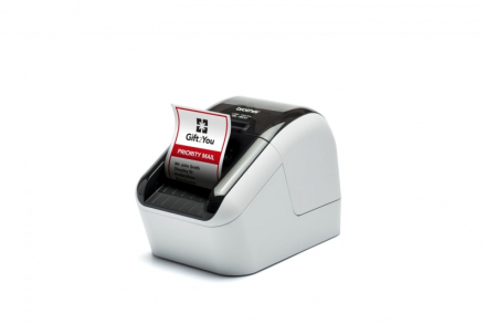 Labelprinter Brother QL-800 m/automatisk kniv
