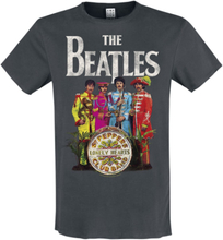The Beatles - Amplified Collection - Lonely Hearts -T-skjorte - koksgrå
