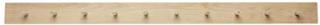Hübsch Klädhängare 10st krokar 140xh10cm - Natur Hübsch