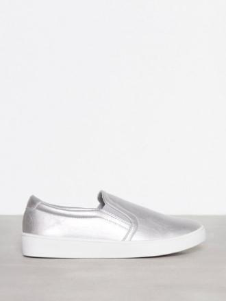 Slip-On - Sølv Duffy Slip-On Silver Sneaker
