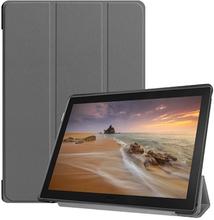 Tri-Fold Lenovo Tab E10 Folio Cover - Grå