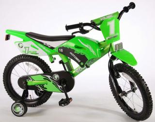 Motorcykel Motorcykel 16 tum - Barncykel 616075