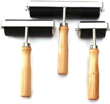 2/4 / 6Inch Hartgummi Druck Tintenroller Lino Brayer Kunst Handwerk Werkzeug