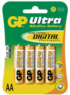 Batteri AA - 4 stk.