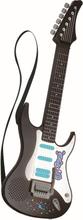 Elektrisk Rock Guitar - Sort