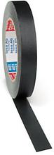 tesa Premium Gewebebänder schwarz, 25 mm breit