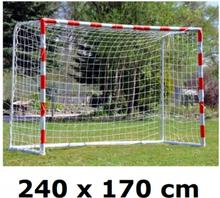 Fodboldmål / Håndboldmål lavet af elastisk plastik - 170 x 240 cm