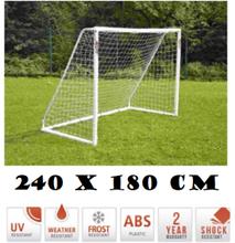 Fodboldmål 180 cm x 240 cm