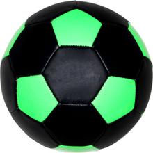Sort / Neon Grøn fodbold - Ø20 cm