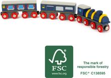 Togsæt - Blå - Et BRIO kompatible tog
