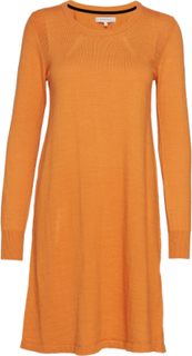 Dress Long Sleeve Strikket Kjole Oransje NOA NOA