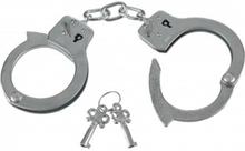 Politi håndjern - Sjovt legetøj til den lille politimand