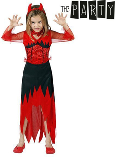Pige Dæmon kostume - 10 til 12 år