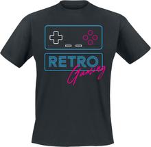 Retro Gaming - -T-skjorte - svart