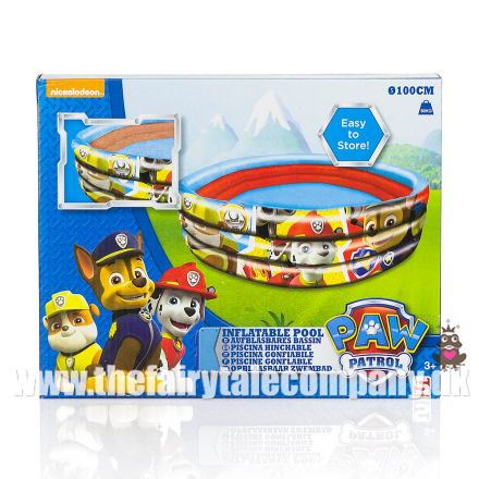 Paw Patrol badehåndklæde, Lets Roll, Chase - TheFairytaleCompany