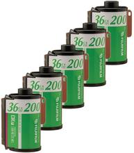 Fujifilm Fujicolor C200 135-36 5-Pack, Fujifilm