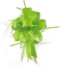 Geschenkband-Schleifen, matt grün