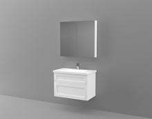 Vore Underskåp med Spegelskåp Neo 76-Vit Ram