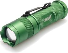 Briv Ficklampa V1 3W Cree XPE2-Grön