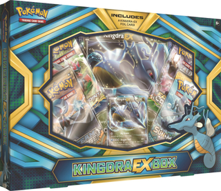 Poke Box Kingdra EX, Pokémon