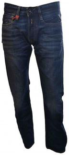 Replay Replay Herre Newbill Jeans rød/blå 32/34