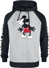 Mickey Mouse - Tongue Out -Hettegenser - grå, svart