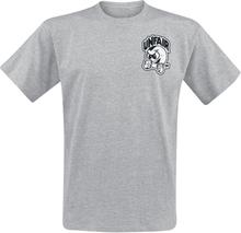 Unfair Athletics - Punchingball -T-skjorte - gråmelert