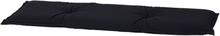 Madison Bänkdyna Panama 150x48 cm svart BAN7B223