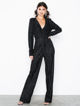NLY Trend Pleated V Neck Jumpsuit Jumpsuits