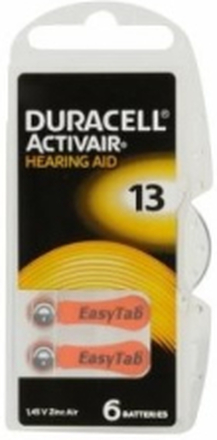 Duracell Batteri Activair 13, 6 st