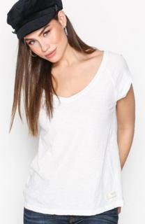 Odd Molly Crossbow Top T-shirts Chalk