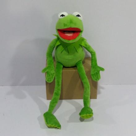 Free shipping 45cm=17.7inch Cartoon The Muppets KERMIT FROG Stuffed animals Plush Boy Toys for Children Birthday Gift