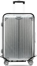 Transparente Kofferschutzhülle