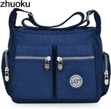 Women Top-handle Shoulder Bag Designer Handbag Famous Brand Nylon Female Casual Shopping Tote Hobos Crossbody Bag Messenger Bags