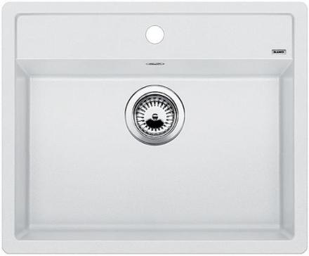 Blanco Dalago 6-F UX Køkkenvask 60,5x50 cm, Silgranit, Hvid