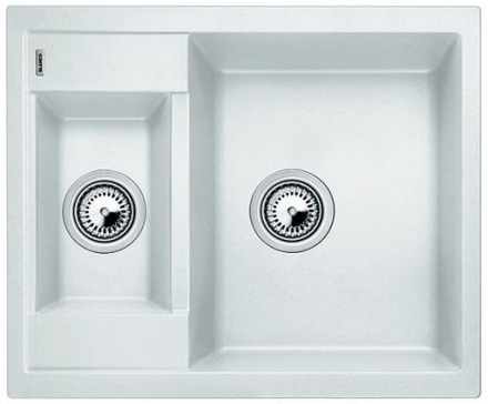 Blanco Metra 6 UX Køkkenvask 61,5x50 cm, Silgranit, Hvid