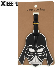 Cartoon Star Wars Luggage Tag Travel Accessories Silica Gel Suitcase ID Address Holder Baggage Boarding Tag Portable Women Label