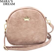 Mara's Dream 2019 Fashion Women Handbag Messenger Bags PU Leather Shoulder Bag Lady Crossbody Mini Bag Female Crown Evening Bags